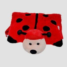 Cuddle Pillow pluche kussen lieveheersbeestke