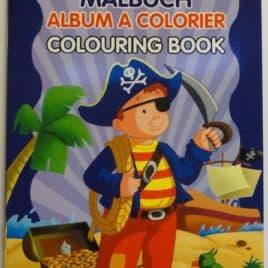 Mini kleurboek Piraat