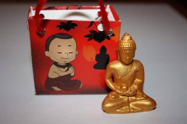 Boeddha geschenk rood