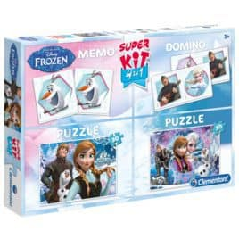 frozen super kit puzzel memo domino