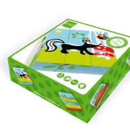 Scratch kubus puzzel box