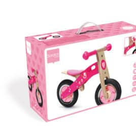 scratch loopfiets love birds box