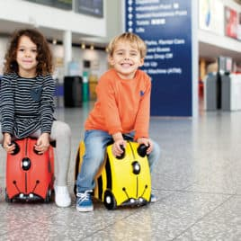 trunki ride on luchthaven