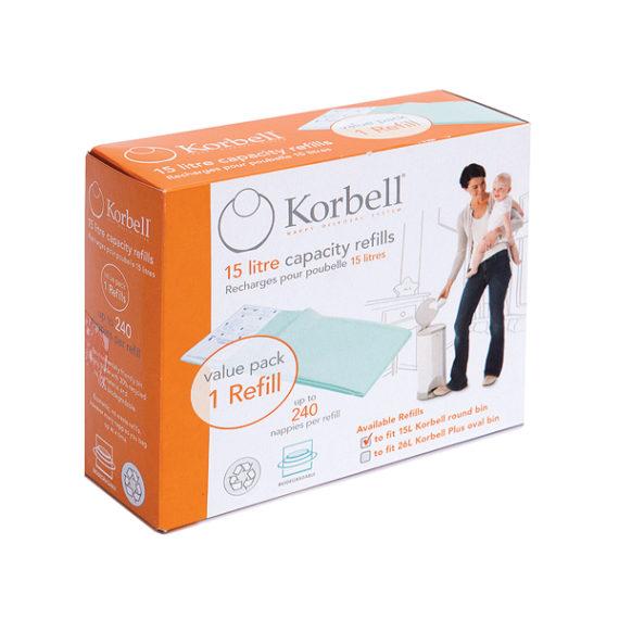 Korbell 1 Pack Refill 250DR1B