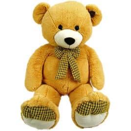 30009-pluche beer licht bruin 100cm