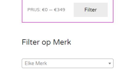 Vernieuwd: Filteren in de zoekfunctie van Kleinetovenaar.eu