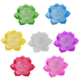 Sfeerlicht Lotus Glas -Set 7 Stuks