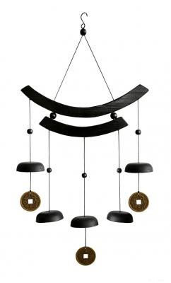 Windbellen 5 Stuks en 3 Geluksmunten