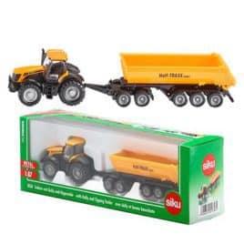 2001172-1-Siku 1858 JCB Tractor Set