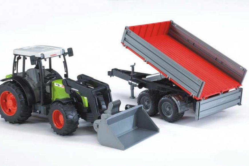 Nieuw: landbouwvoertuigen en speelgoedauto's