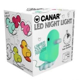dhink412-08 nachtlampje led groen box