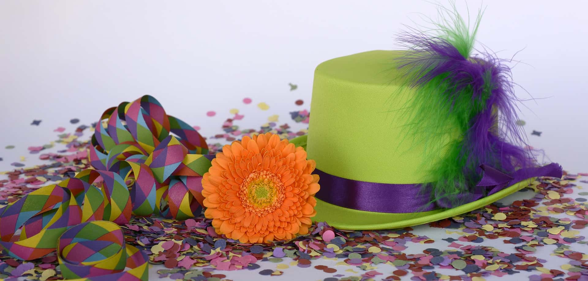 carnaval vieren hoed
