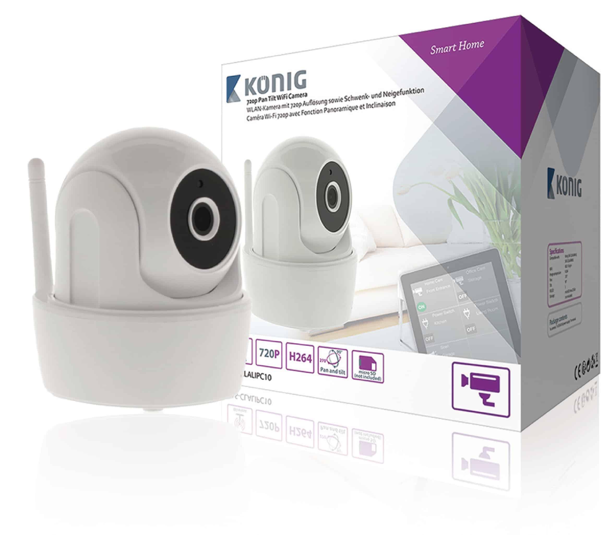 König IP camera HD indoor SAS CLALIPC10 1